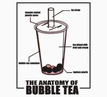 BUBBLE TEA ANATOMY by SOL  SKETCHES™