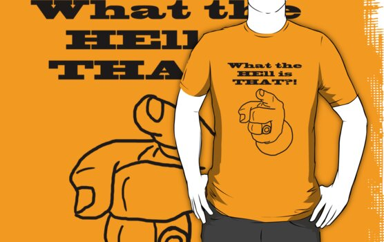 what the hell is that!? by Mitchell Gosling