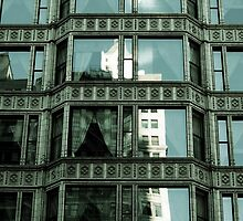 Reliance Building Detail 2, Chicago, Daniel Burnham by Crystal Clyburn