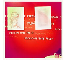 Mexican Made Fresh Photographic Print