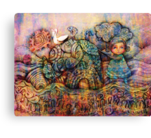 Rainbow Warriors of Bubblegum Bay Canvas Print