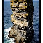 Dún Briste Sea Stack by TANYA WILLIAMS