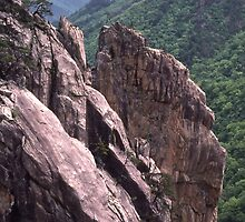 Jagged Cliffs, South Korea by John Carpenter