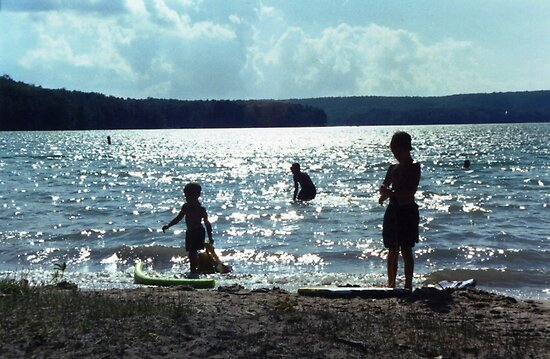 Summer Lake Fun by John Carpenter