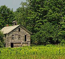 Last Word Barn (Almshouse Barn) by Pamela Phelps