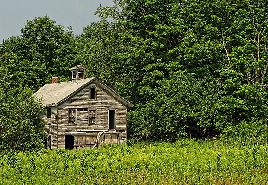 Last Word Barn (Almshouse Barn) by Pamela Phelps
