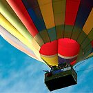 Hot Air Balloon in Flight by Brian Roscorla