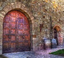 Castle Winery Doors by Rachael Towne