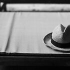 Straw hat & Tatami by Sam Ryan