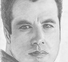 John Travolta by Christy  Bruna