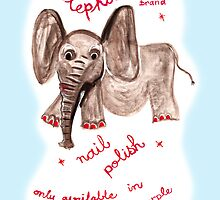 elephant polish by Soxy Fleming