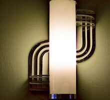 Art Deco Wall Sconce by Wendi Donaldson