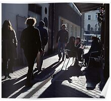 A Street Scene! Poster