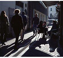 A Street Scene! Photographic Print