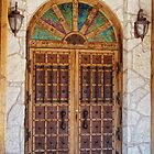 Ft Worth Door by Colleen Drew