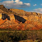 Sandstone Cliffs Near Ghost Ranch by outcast1