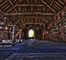 Valle Crucis Dormitory by Alan E Taylor