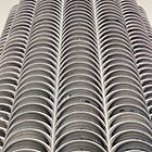 Marina City, Chicago, Bertrand Goldberg by Crystal Clyburn
