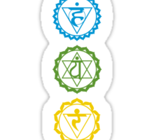 Chakras - The 7 Centers of Force Sticker