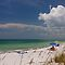 Beach on Gasparilla Island by Joe Elliott