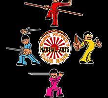 Sensei Pepper's Martial Arts Club Band by jayveezed