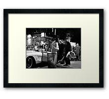MacDougal Street 1964 Framed Print