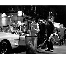 MacDougal Street 1964 Photographic Print