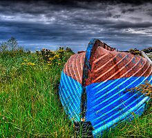 Holy Island Upsidedown Boat by Ryan Davison Crisp