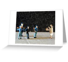 The Hailey Police Department learns their lesson after purchasing a battering ram on eBay. Greeting Card