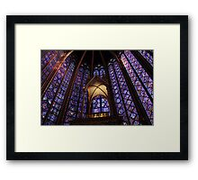 Colors of Sainte Chapelle Framed Print
