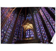 Colors of Sainte Chapelle Poster