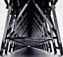 Under The Pier - Monotone by David Lewins