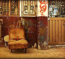 I Was  a Comfy Easy-chair... by Maria  Gonzalez