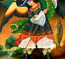 Saint Raphael Archangel by Jorge H. Elias