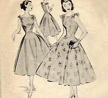 Mc Calls Pattern 3659 : Copyright 1953 by Lisa Defazio