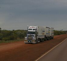 Kenworth 908 Triple Reefer by boydcarmody