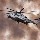 Military Helicopter by Joe Elliott