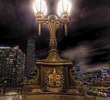 City Lights • Melbourne • Australia by William Bullimore