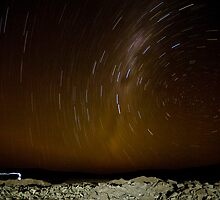 Atacama Star Trail by Matt  Streatfeild