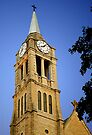St. Dennis Church Steeple & Clock by MarjorieB