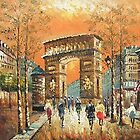 Triumphal Arch Oil Painting from Doupine [HS0096] by yelia0722