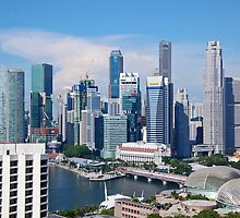 Singapore Cityscapes by Okki  Kalin