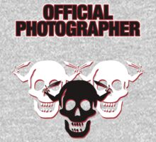 Official Zombie Photographer by Stephen Mitchell