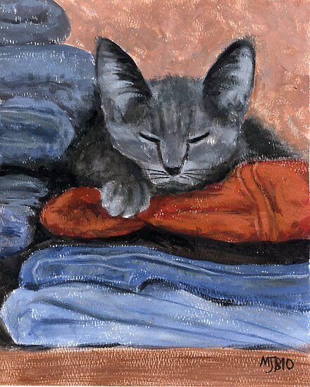 Cat Nap by Michael Beckett