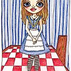 The Door's too small, Alice. by Samantha Gilkes