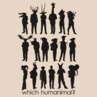 Which humanimal? Black by Brett Perryman