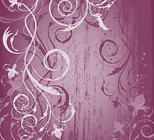 Beauty floral background by Olga Altunina