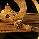 Locomotive Wheel Abstract by sundawg7