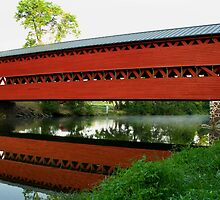 Sach's Covered Bridge by Mark Van Scyoc