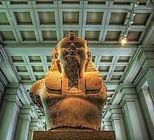 Bust of Amenhotep III - British Museum by NeilAlderney